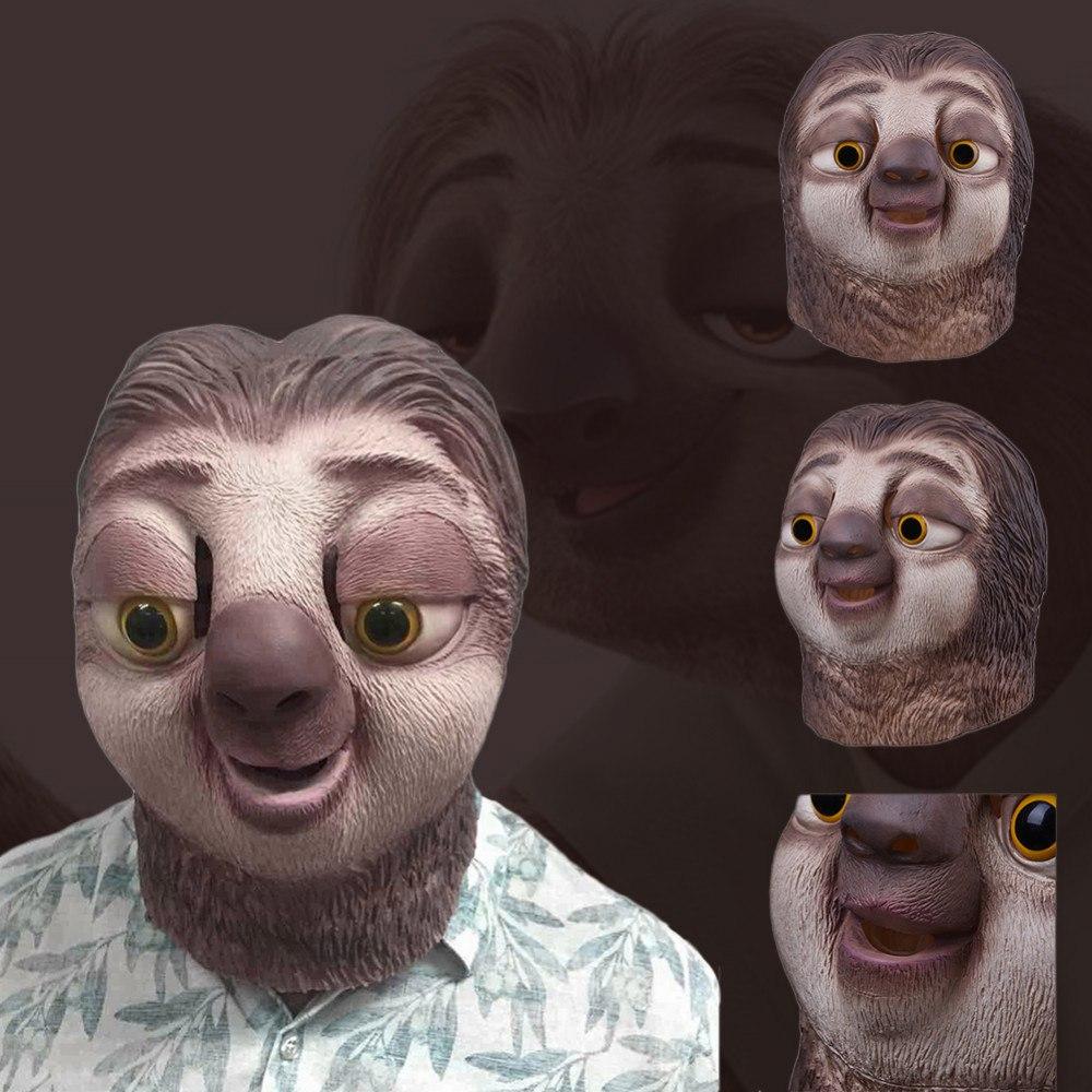 Маска ленивца из Зверополиса