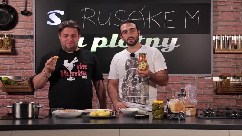Cizinci v Česku. Ochutnávka ruských jídel.