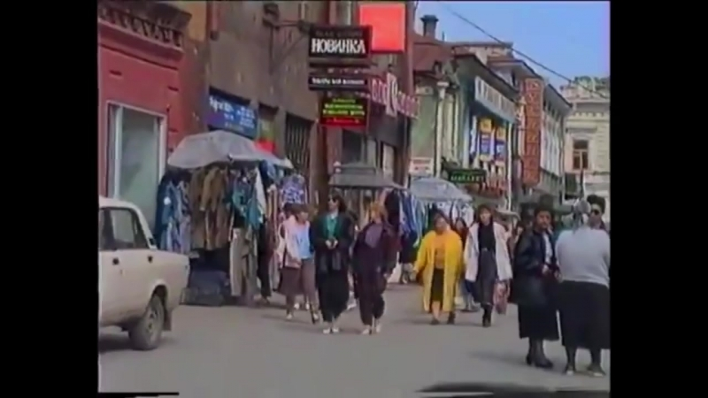 Екатеринбург 90-х годов, ларьки на Вайнера