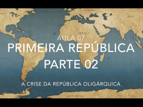 HISTÓRIA DO BRASIL PARA O ENEM - AULA 07