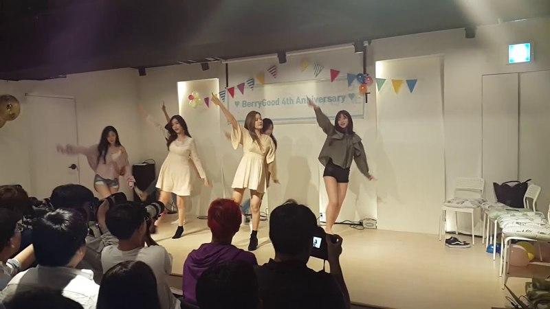 2018.05.20 베리굿(BerryGood) 4주년 팬미팅, 클럽플래닛-비비디 바비디부