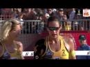 Larissa-Talita (BRA) v Ludwig-Walkenhorst (GER) - FIVB Beach Volley World Champs
