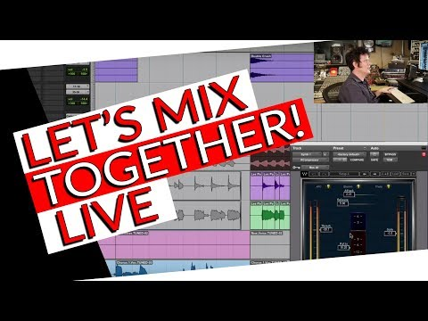 Live mixing and QA - Warren Huart Produce Like A Pro