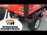 Kubota RTV Z1140 Side By Side Utility Vehicle Weekend Handyman #kubotaTracktor
