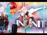 Вдовина Дарья. Pole dance. Студии танца Infinity 2 года!