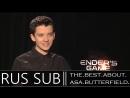 Asa Butterfield Interview - Enders Game JoBlo