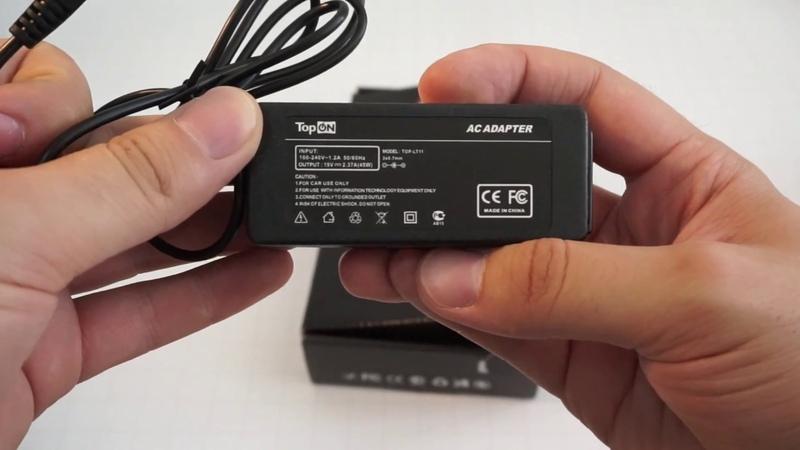 Блок питания зарядное для ноутбука Asus TopON 19В 2 37А 45Вт 3 0x0 7мм
