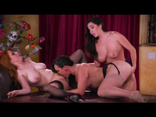 Penny Pax, Karlee Grey & Sinn Sage [HD 1080, Lesbian, Threesome, Brunette, Big Tits, Small Tits, Redhead, Latina, Hairy]