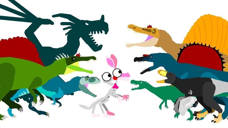 FNAF and Dinosaurs   DinoMania - Funny Dinosaurs Cartoons   Dinosaurs Battles Godzilla vs Zilla
