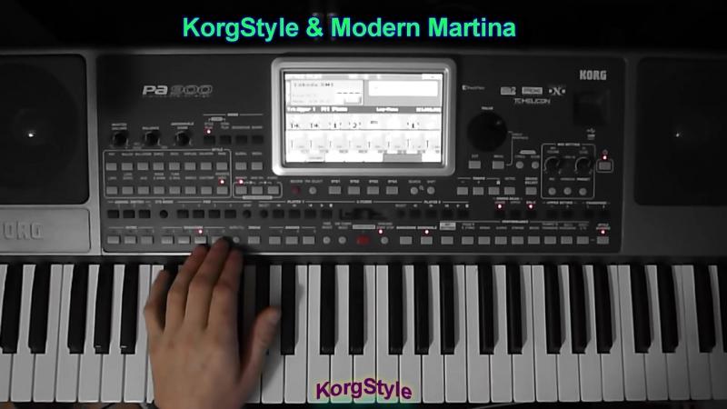 KorgStyle MM -Wind and rain (Korg Pa 900) DanceBassBoost