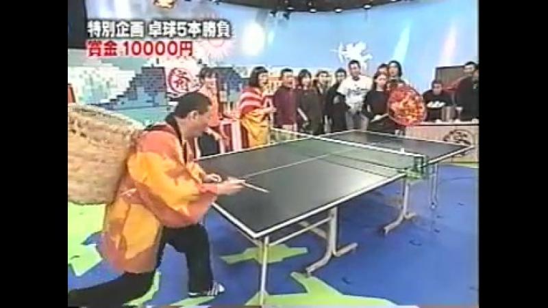 2003 Лена Катина (Тату) в гостях у Такеши Китано 2