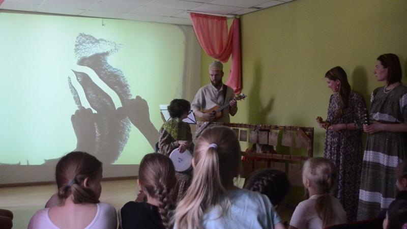 Масленица с музыкальным проектом Вербное воскресенье в Ма-Центре