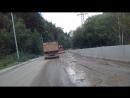 Дорога в п.Терскол через поляну нарзанов 13.07.18