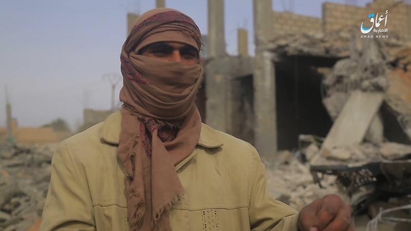 Воздействие ударов США на деревню Шаафа вблизи сирийско иракской границы