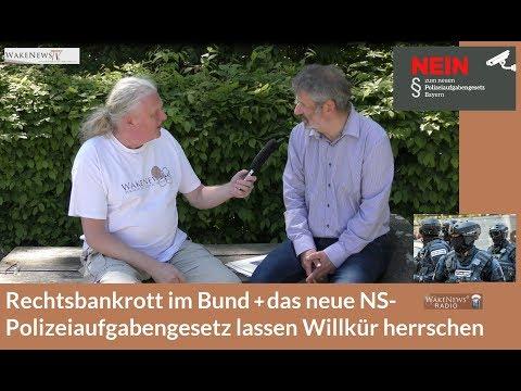 Rechtsbankrott im Bund das neue NS Polizeiaufgabengesetz lassen Willkür herrschen 20180427 смотреть онлайн без регистрации