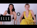 Lili Reinhart and Camila Mendes Read Absurd Riverdale Fan Theories _ ELLE [RUS SUB]