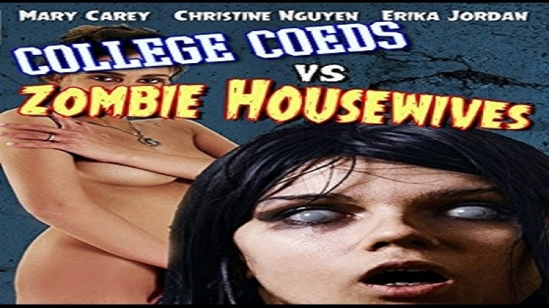 Dean McKendrick -College Coeds vs Zombie Housewives Mary Carey Christene Nguyen Karlie Montana Erika Jordan