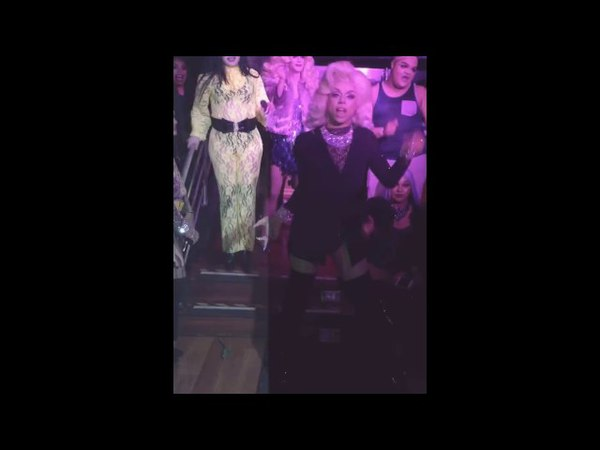 Aja performing Call Me Mother at Turnt