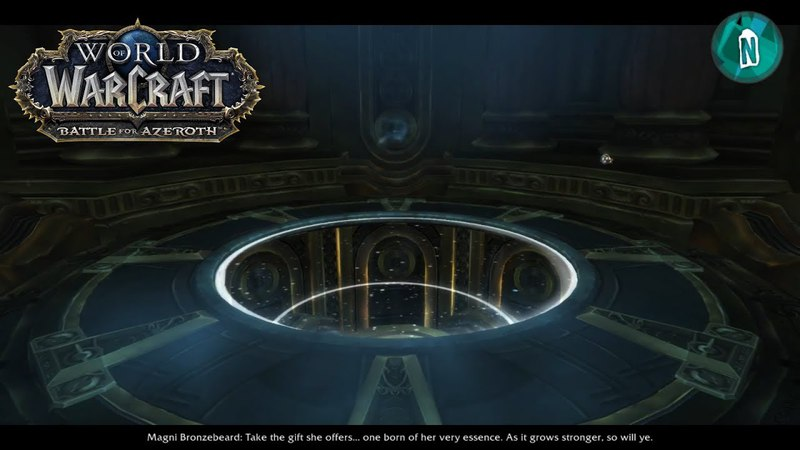 Heart of Azeroth Scenario with Cutscene Battle For Azeroth Alpha