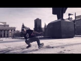 Брейк-данс от новосибирцев в -29