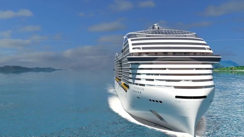 Future Cruise Only Robot Will Serve The Guests
