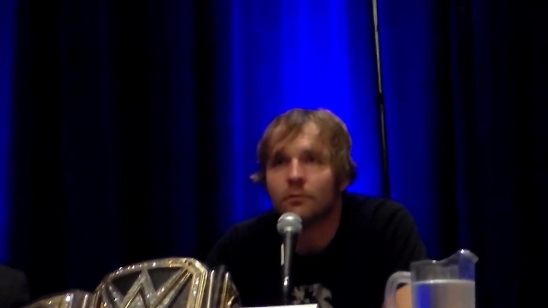 Wizard World Chicago Comic Con 2016 Dean Ambrose Q u0026A