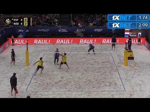 2018 FIVB Ostrava Open Brouwer/Meeuwsen (NED) vs Herrera/Gavira (ESP)