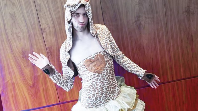 Sexy Giraffe Cosplay ft. Nmp, Greek Trainwrecks! (Mail Time 19)