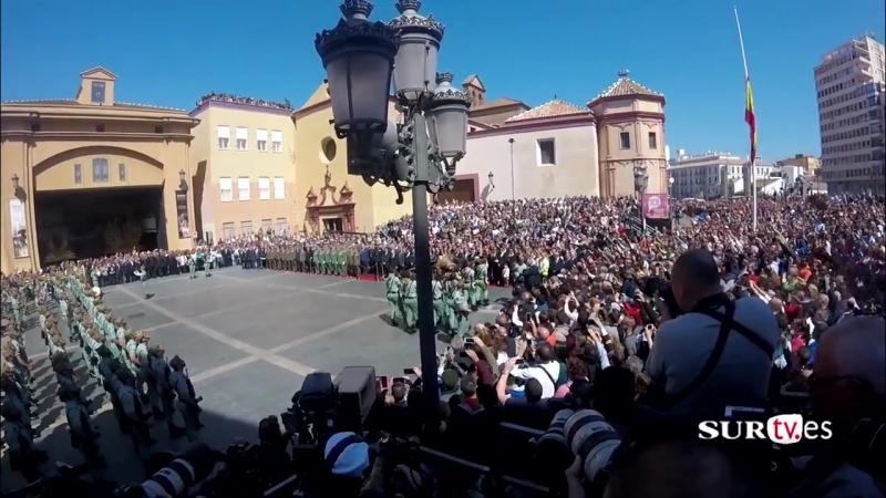 Legionarios cantando El Novio de la Muerte - Semana Santa de Málaga
