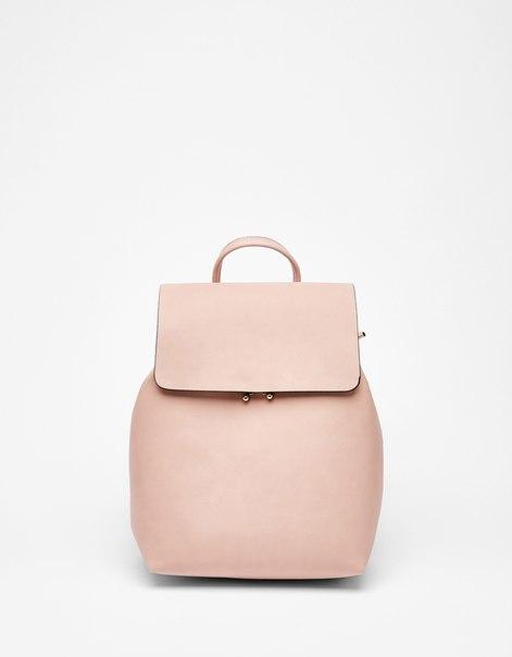 Рюкзак с металлизированной застежкой