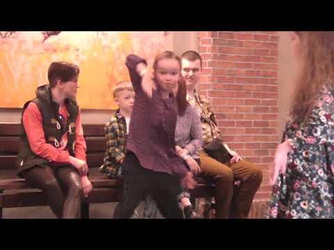 Popping Kids. Настя Iva. Дети поют и танцуют.