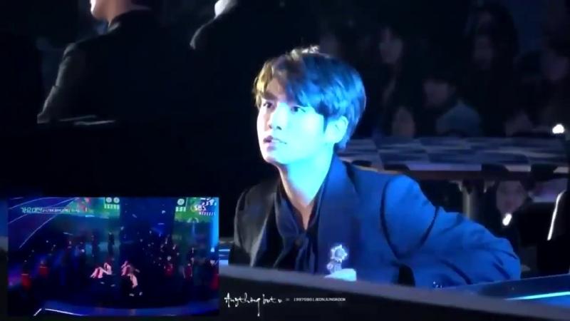 Jungkook (BTS) reacts to ASTRO and screams Moonbin-ah!