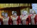 Выступление хора Селяночка в пос Смердомский 30 04 2018г