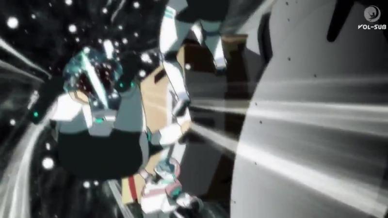 Вольтрон Voltron опасности открытого космоса 3