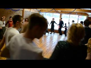 Танец Сиртаки на празднике Громница в Семейном творческом клубе