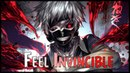 「Nightcore」→Feel Invincible (Lyrics)
