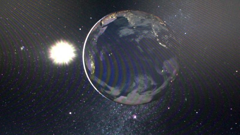 Движение солнца а не земли.Земля неподвижный центр Вселенной. Часть 3.