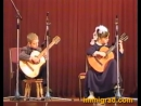 Юные гитаристы исполняют пьесу Поезд идёт