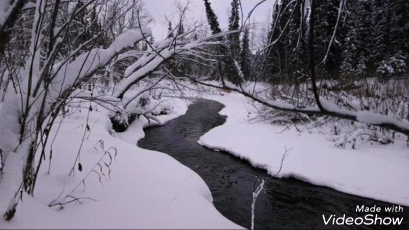 Зима пришла в р-н Печорский.