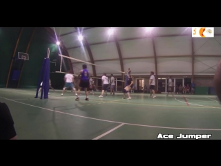 Josh Barrina and Jumper ACE Guys with a crazy vertical jump Its incredible