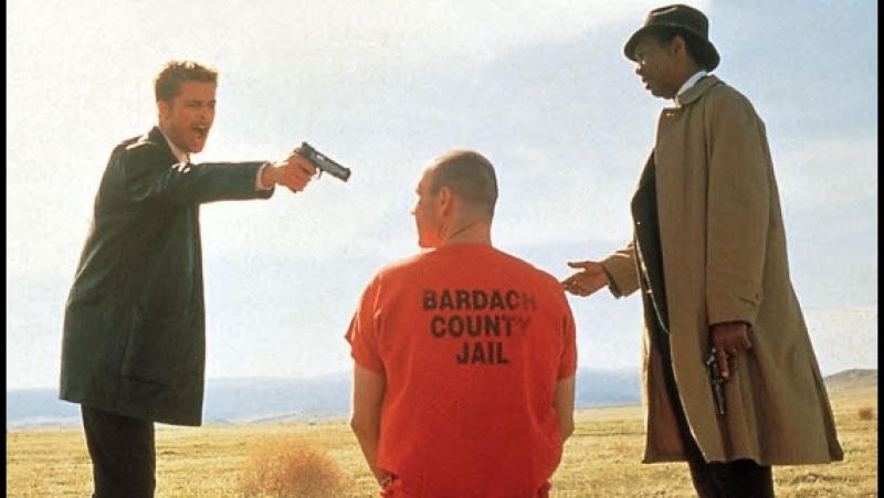 Семь (1995) full HD супер фильм триллер Морган Фриман и Брэд Питт рейтинг 8,3