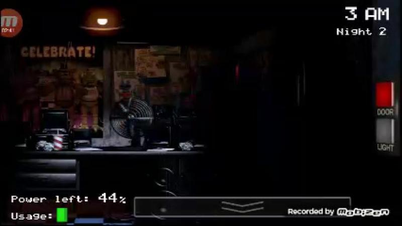 Five Nights at Freddy's 1 ночь №2
