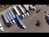 Профессиональная парковка фуры