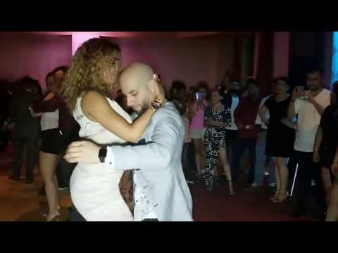 Хорхе Атака и Таня Ла Алемана, Социальные танцы @ 2017 Лас-Вегас Сальса Бачата Суперконгресс