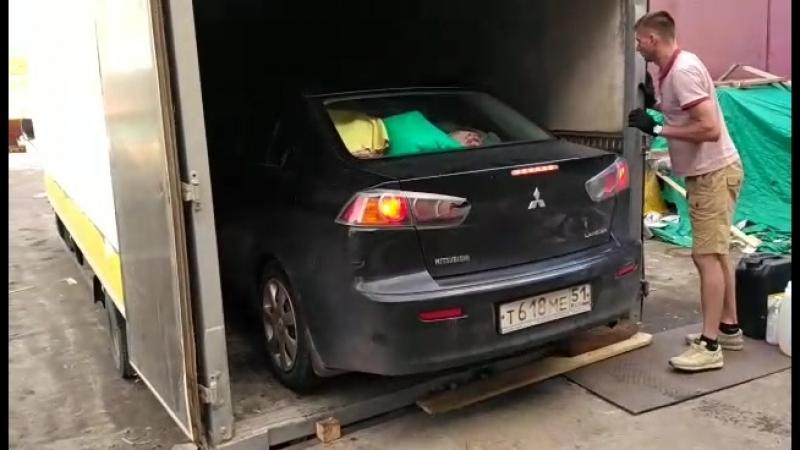 Отправка автомобиля в Оренбург Наш официальный сайт компании www tkavrora51.ru