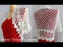 """Bolero Ternura"""" a crochet B №49"""