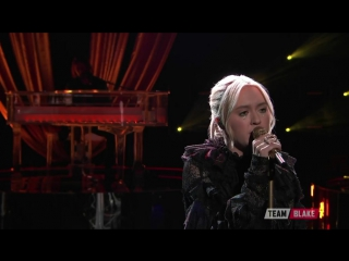 Chloe Kohanski вживую исполнила Total Eclipse of the Heart на шоу The Voice 2017