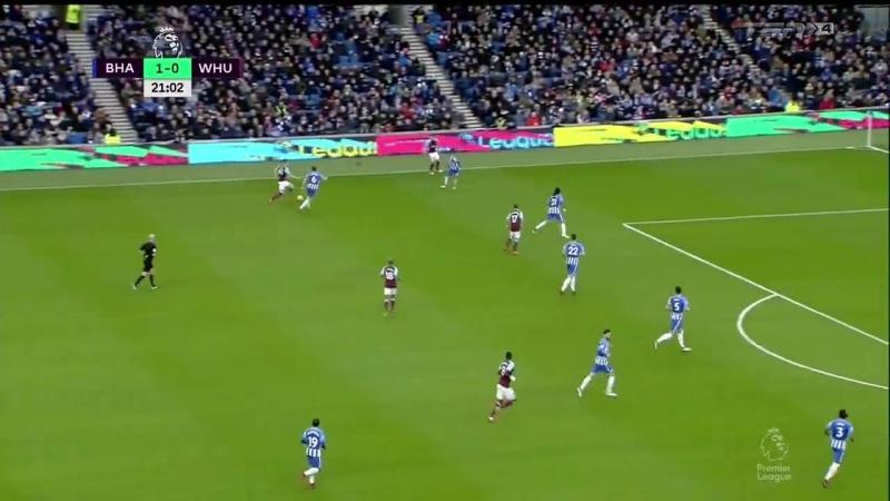26-Brighton Hove Albion vs West Ham United .1 half (518)