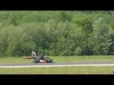 New World Record Jet Engine Kart , Turbojet Kart HX Monster 116.819mph