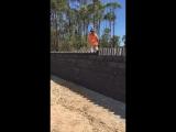 Строительство стены методом домино